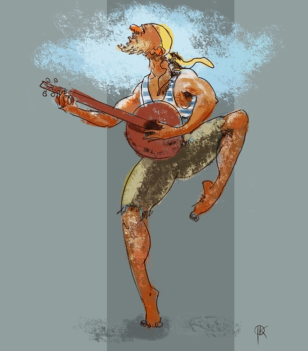 Jan deerbard krycinski 2018 04 19 silly pirate bard