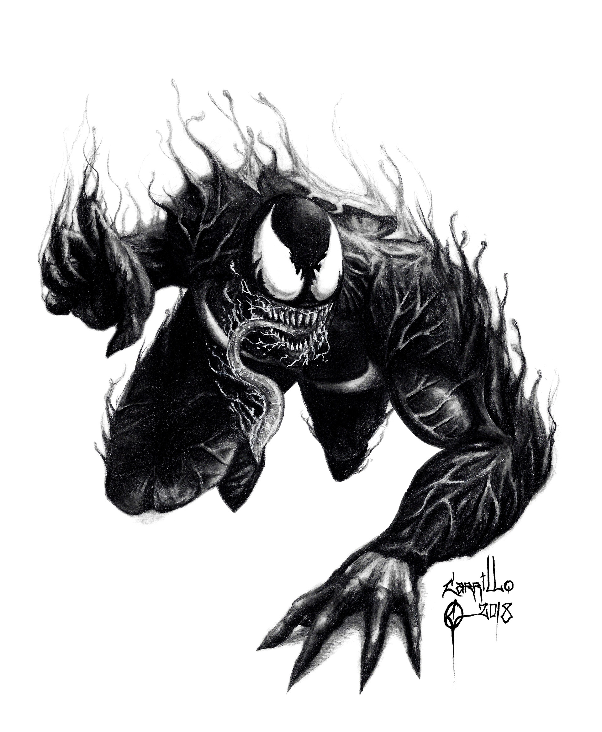Artstation Venom 2018 Oscar Carrillo Oscar Carrillo