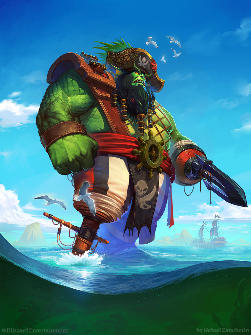 Hearthstone - Seabreaker Goliath