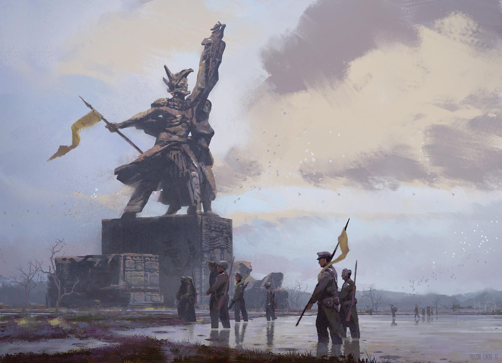 """Revolutionary Totem"" finished image"