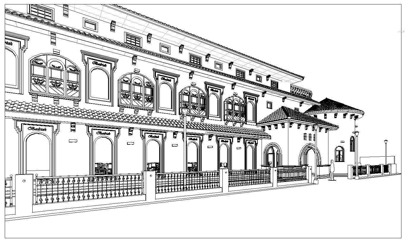 Edison Izon Spanish Restaurant Exterior Design