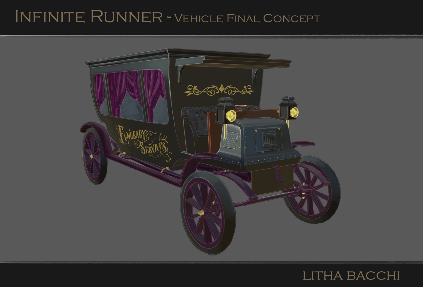 Victorian Hearse Concept (Jack the Ripper themed)