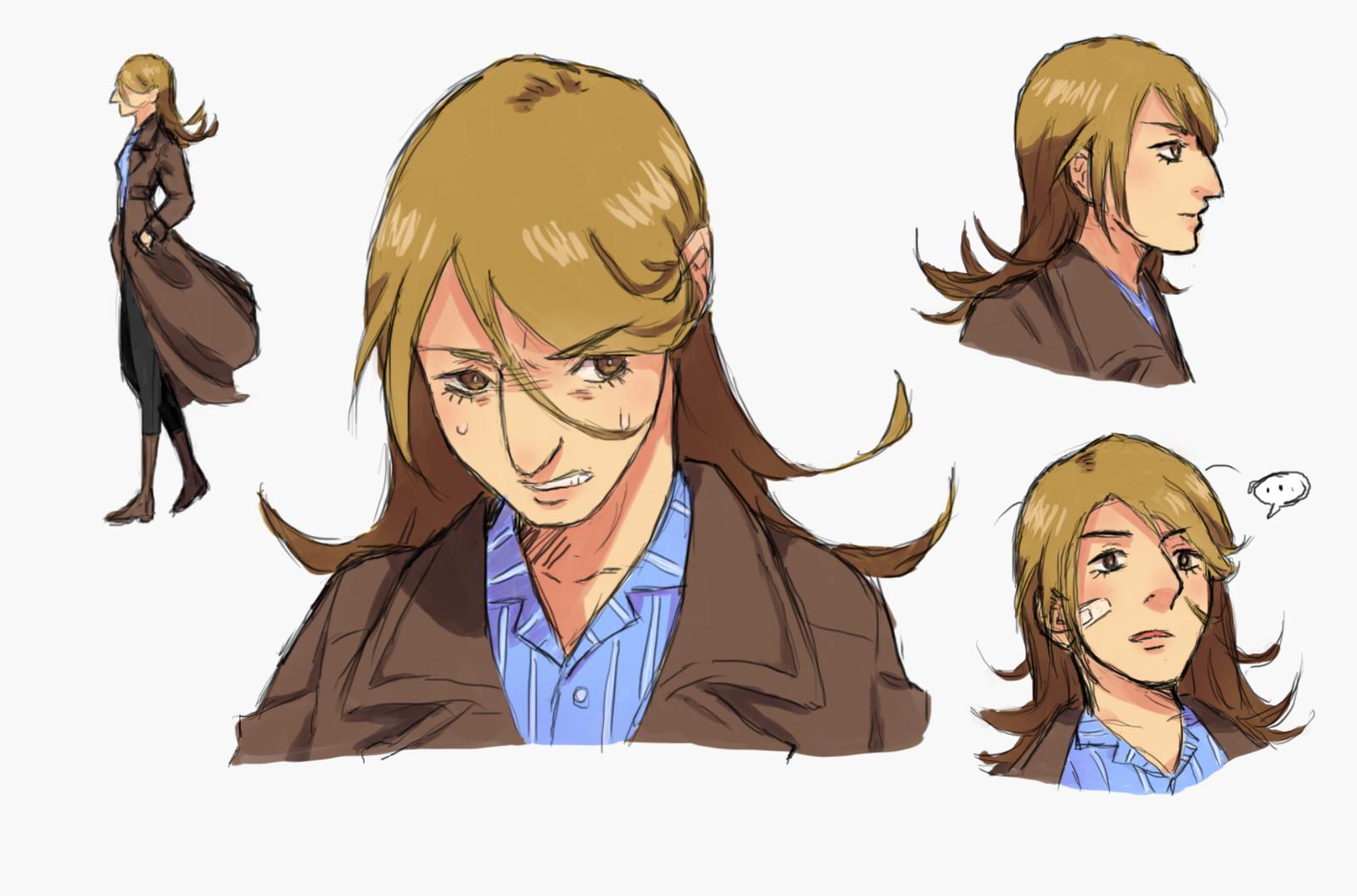 Detective Harrier