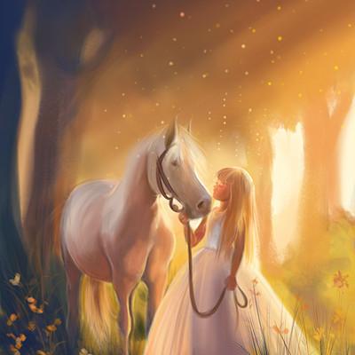 Hanaa medhat horse fairytale