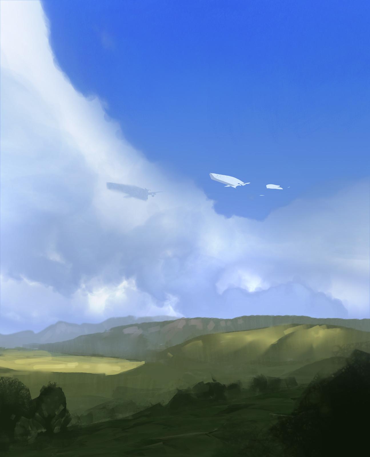 Speedpaint_Blue Sky