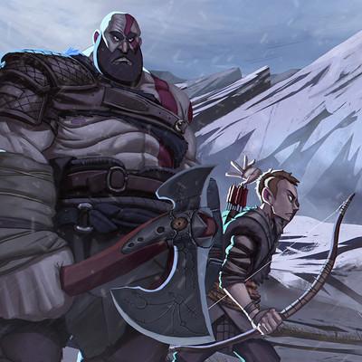 Juanda rico god of war kratos and attreus