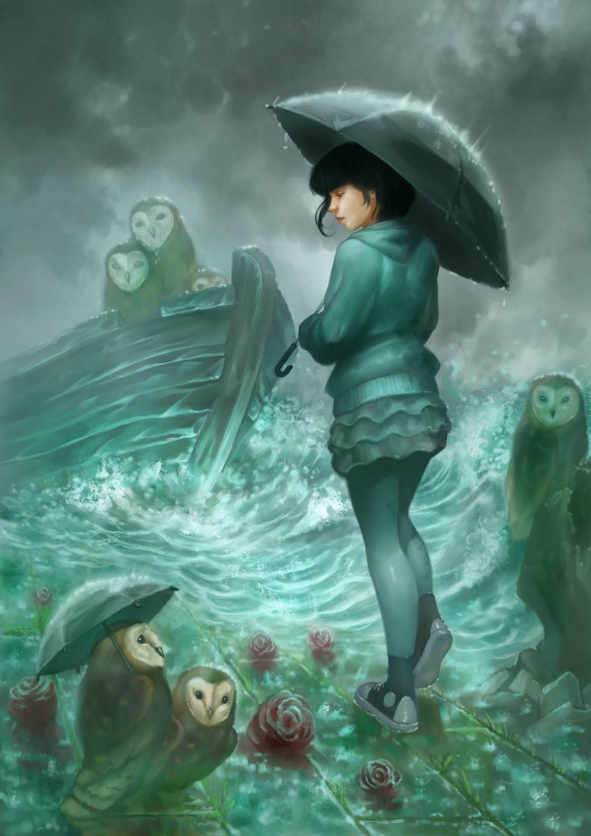 Luka brico rainy day