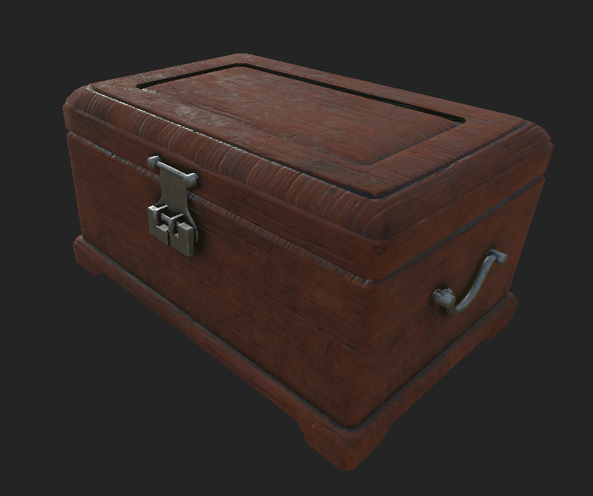 Authored in Substance Painter. Another Version can be seen below.