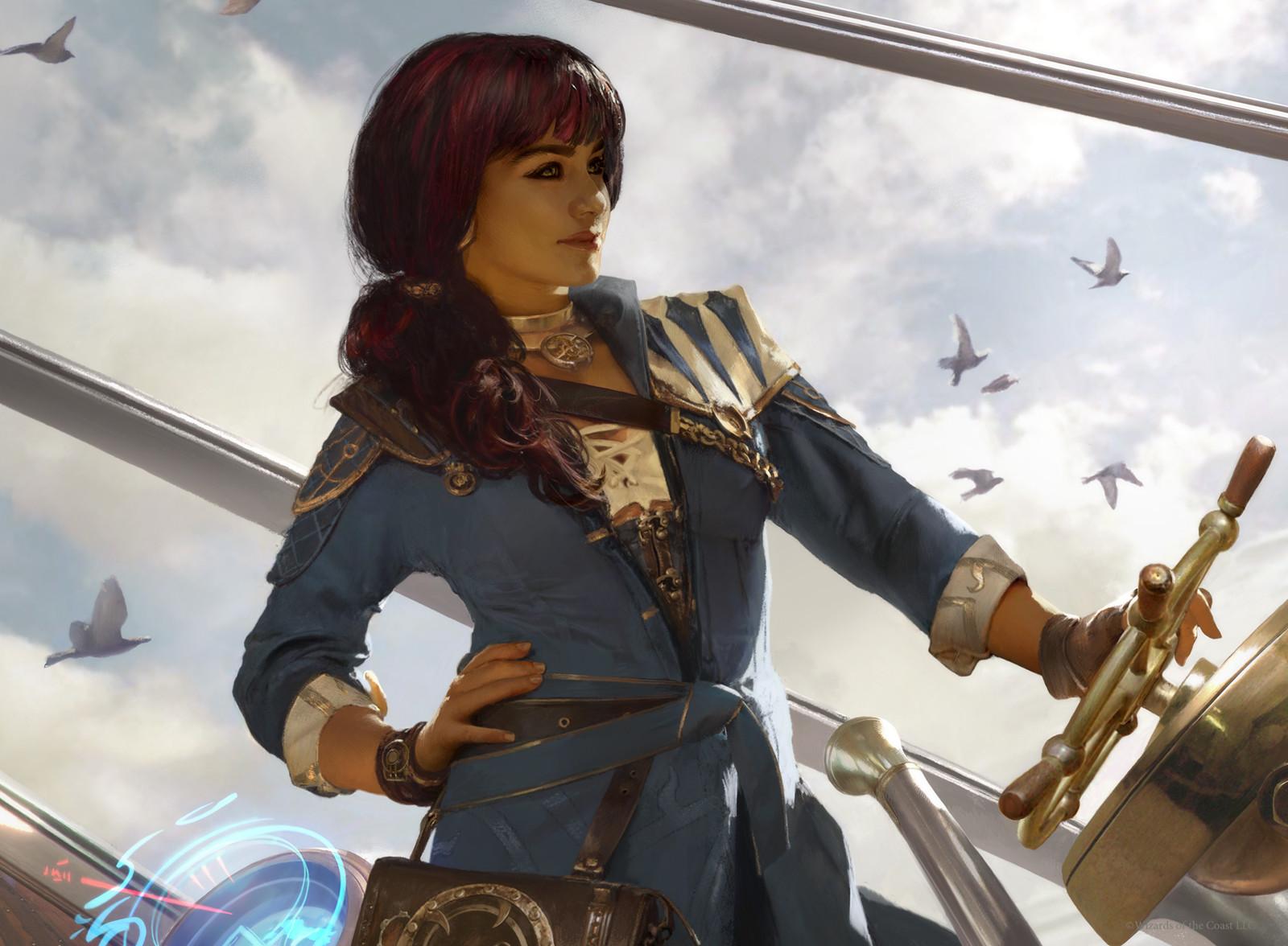 Image result for jhoira weatherlight captain art