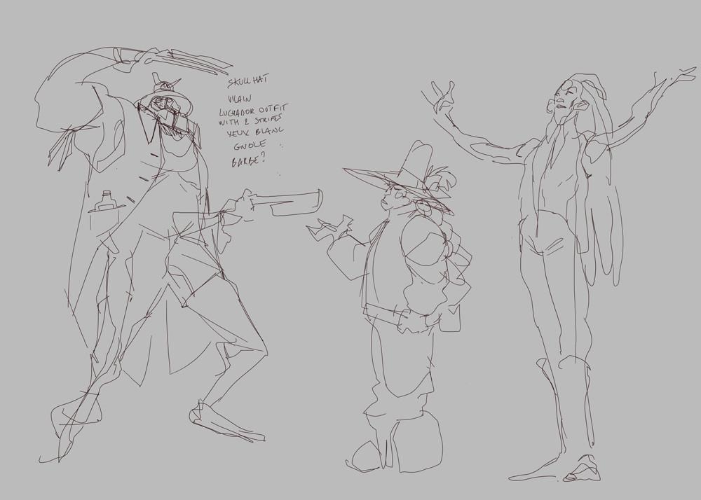 Rough sketch 2