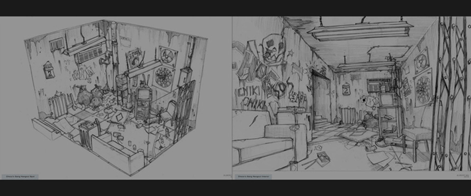 The sketches that inspired this project (by Albert Ng = !! NOT BY ME !!)