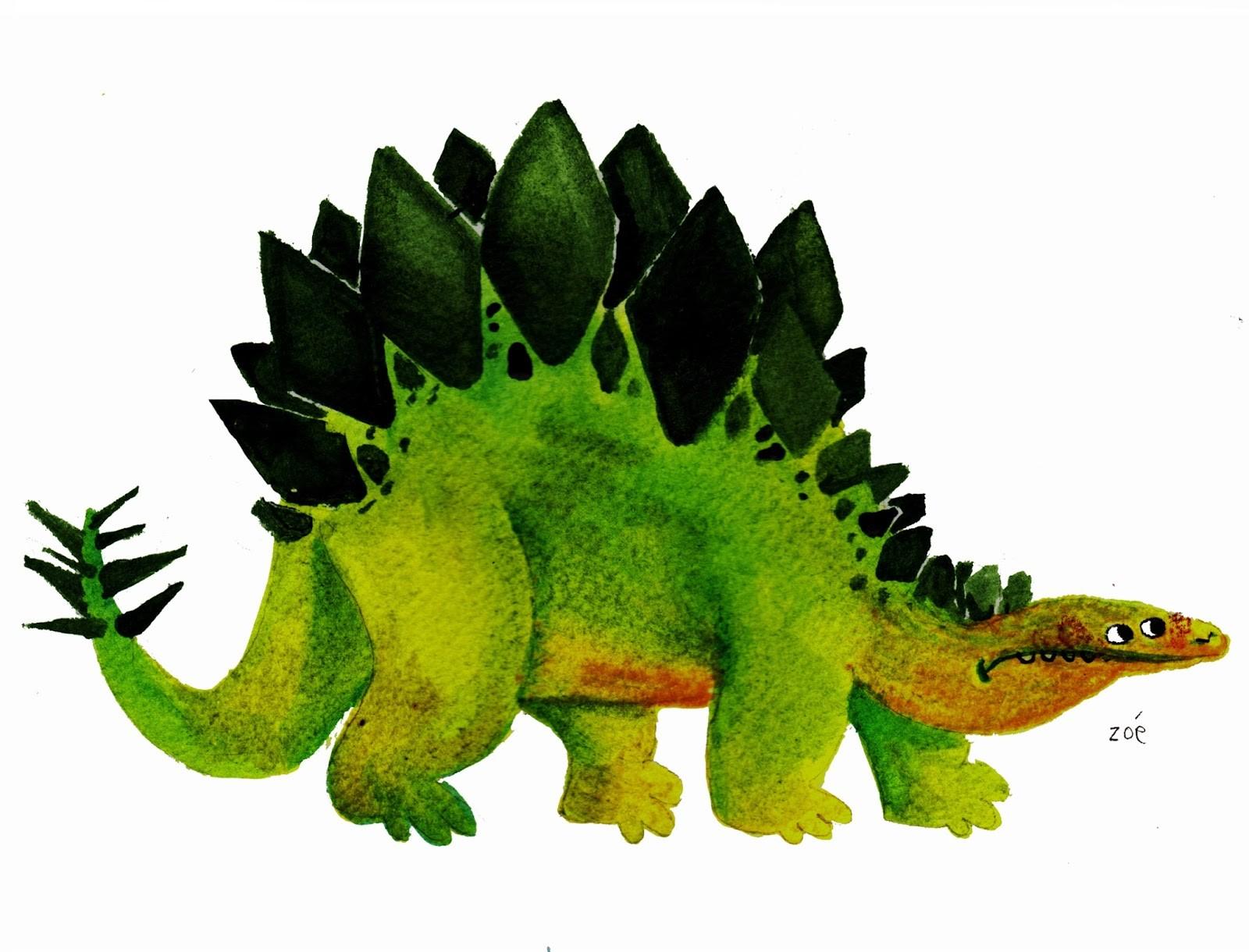 Zoe bergeret zoe bergeret stegosaure