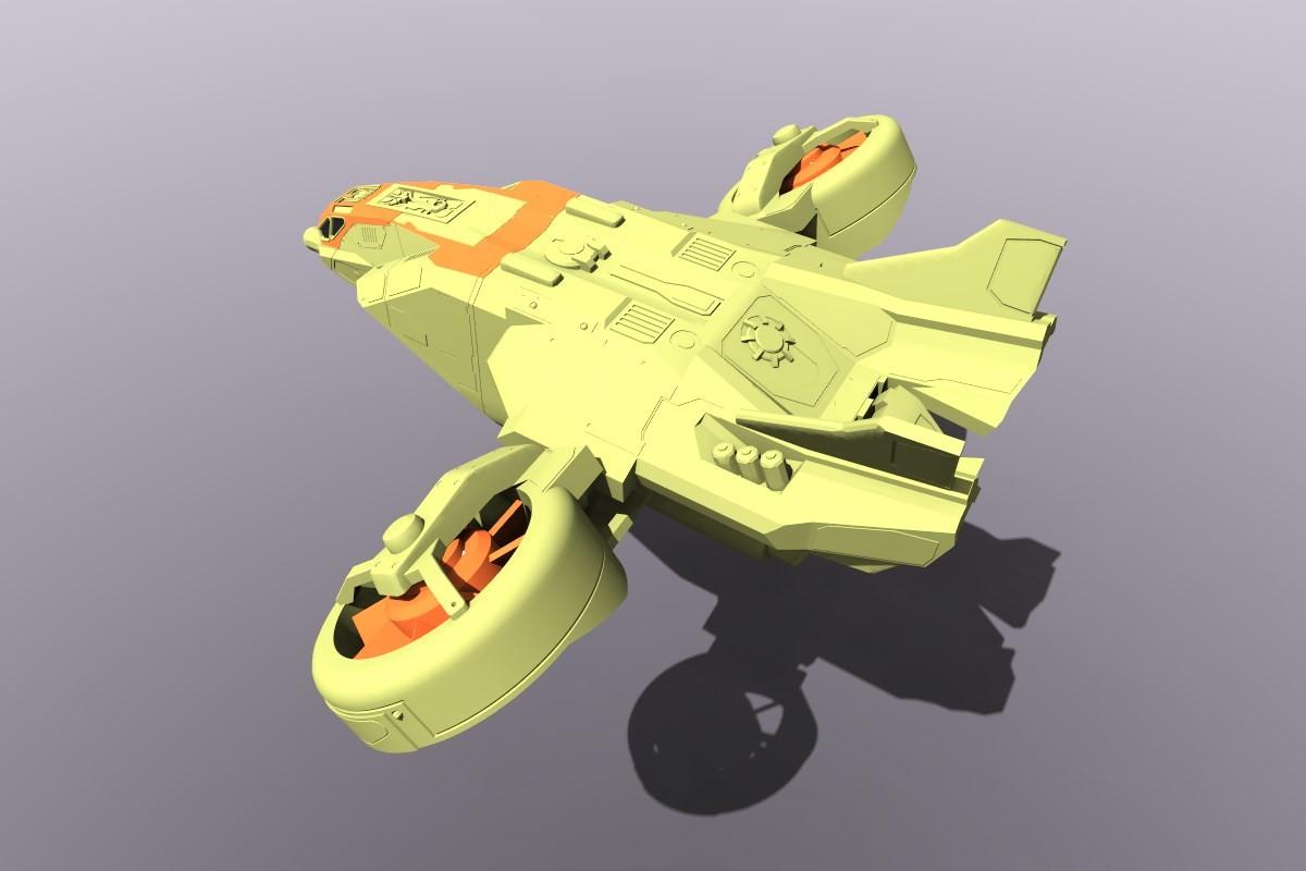 German impache hover airone 3