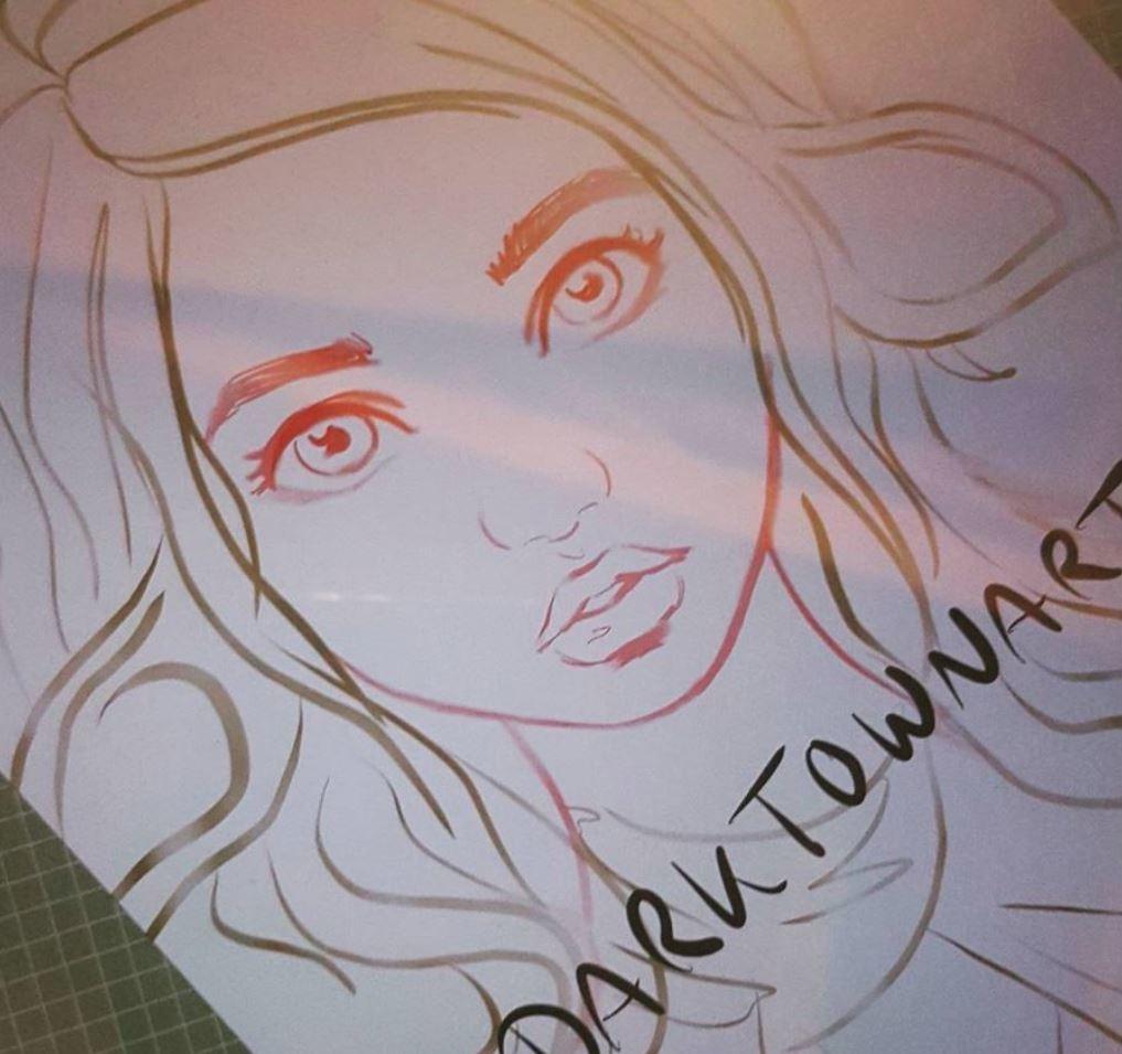 Anne pogoda galaxymermaid drawing2