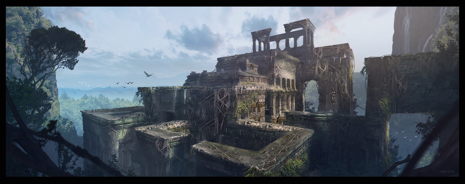 Ruins in the Jungle # 002