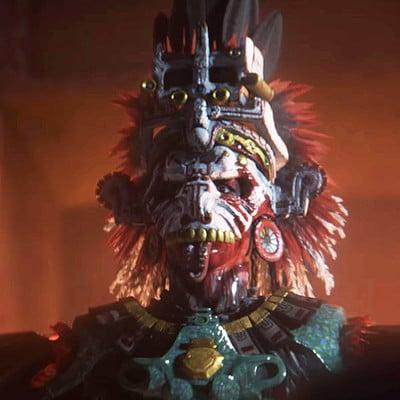 Priest - Shadow Of The Tomb Raider - Blur
