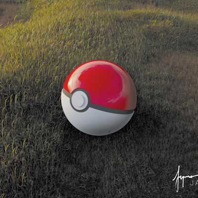 Jan enri arquero pokeball min