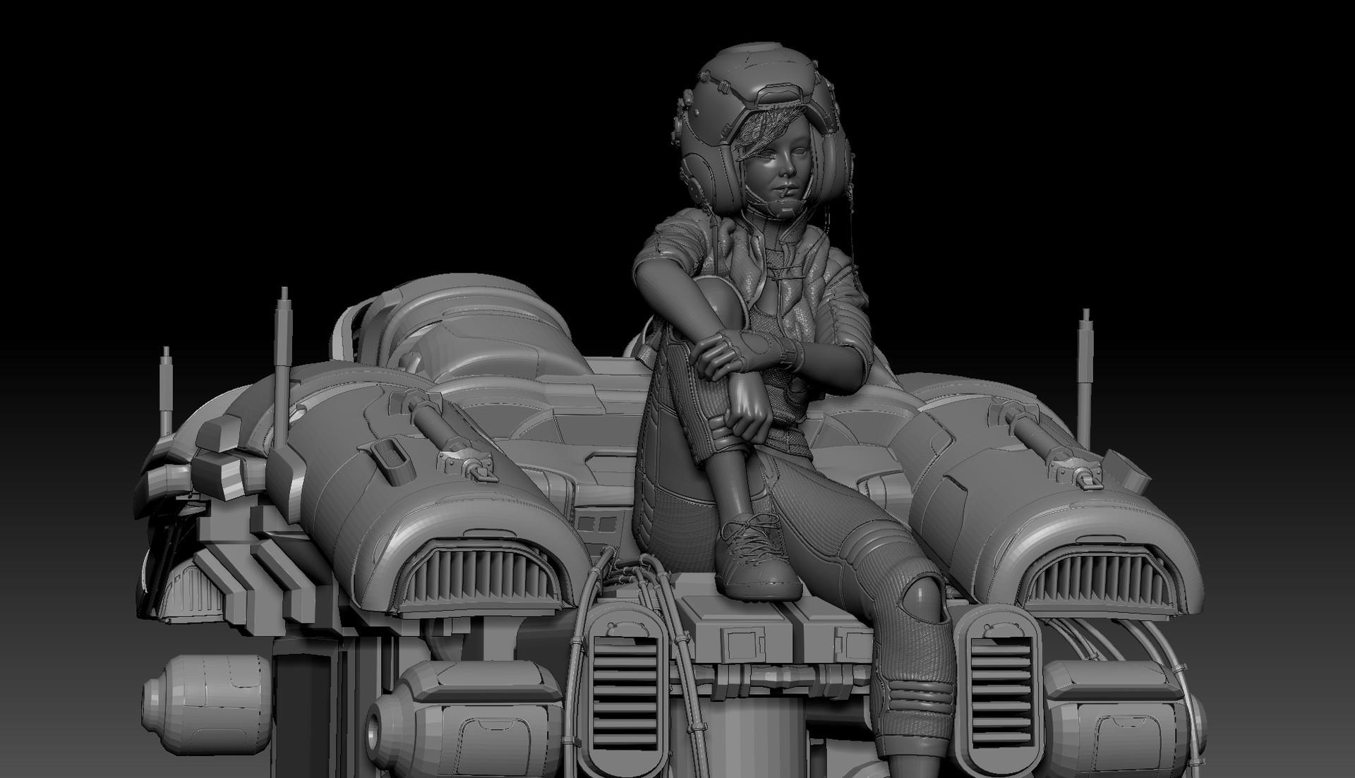 Concept 01 Sculpt