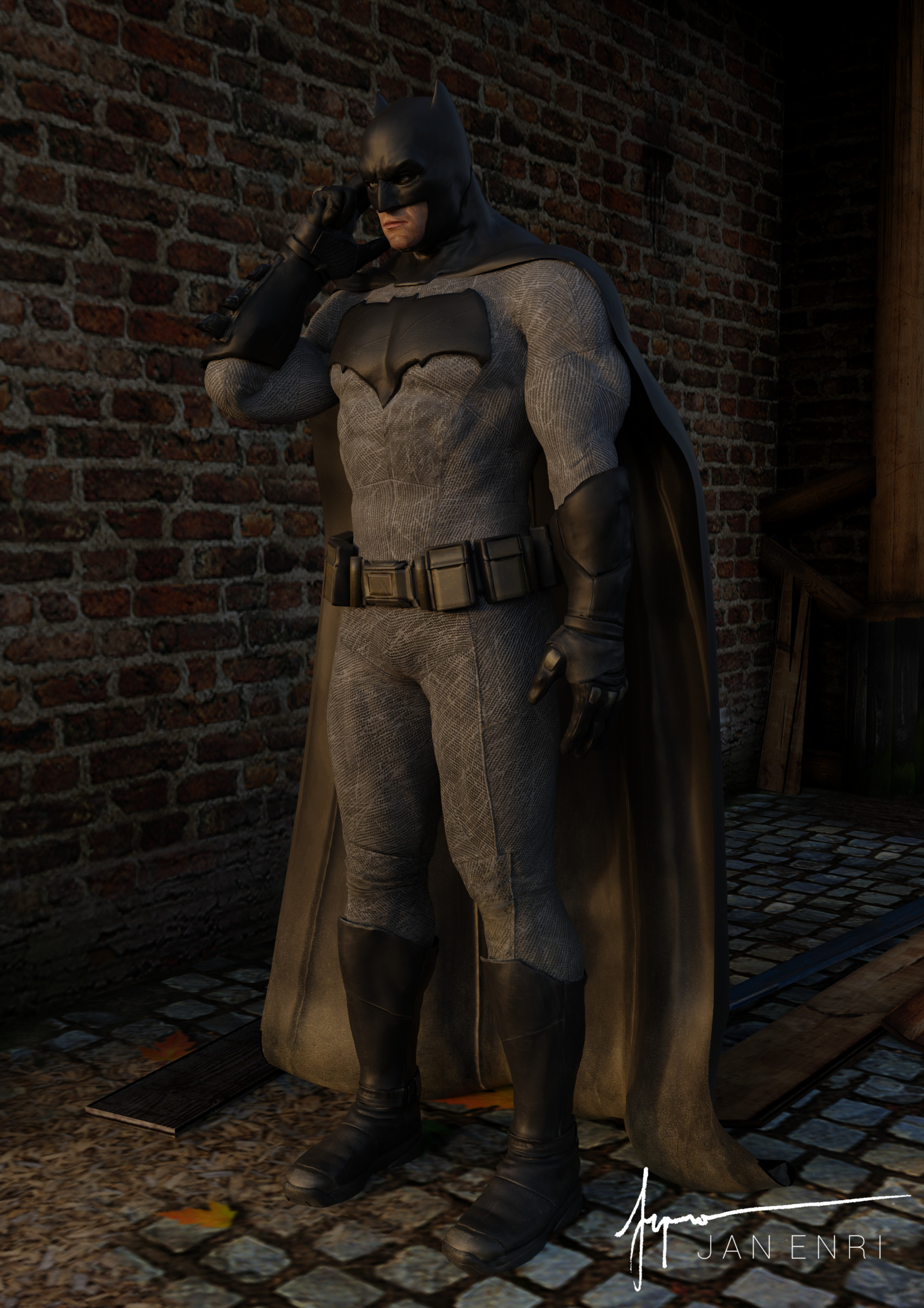 Jan enri arquero batman bvs