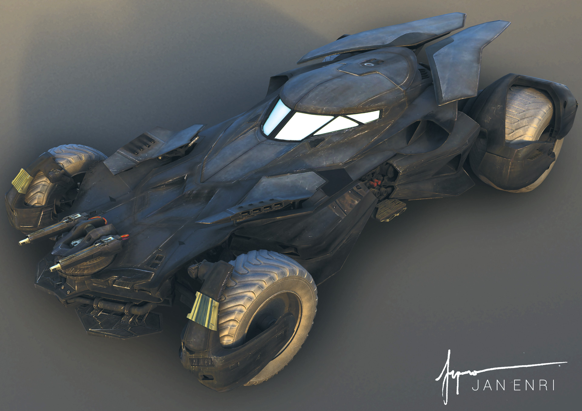 Jan enri arquero batmobile bvs