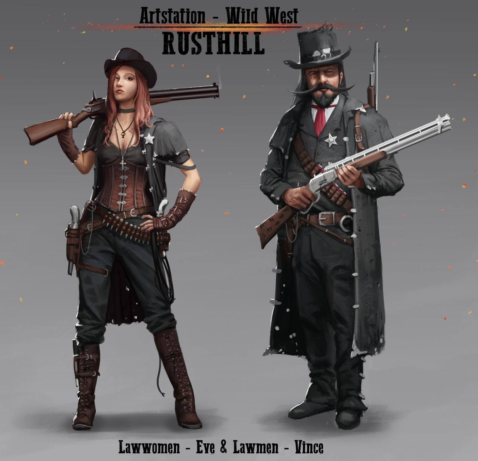 Law-woman / Law-man