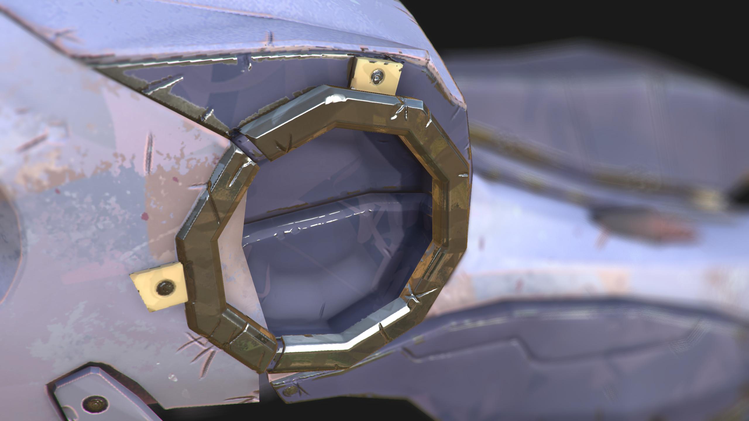 Texture Work - Eye Socket