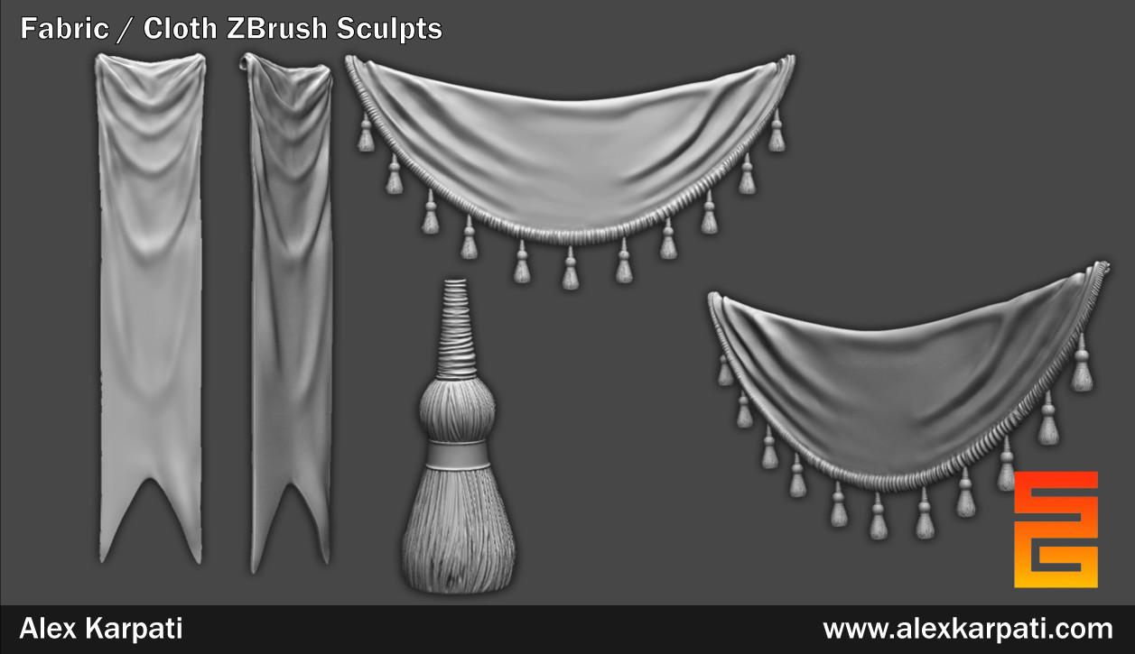 Fabric Sculpts