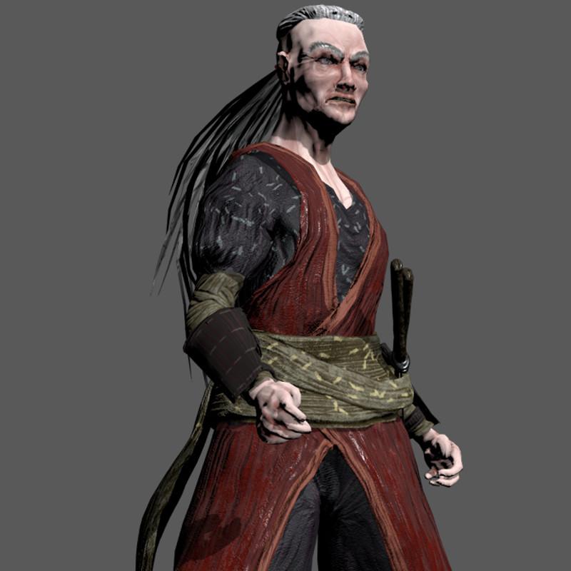 Samurai Game Character 2018