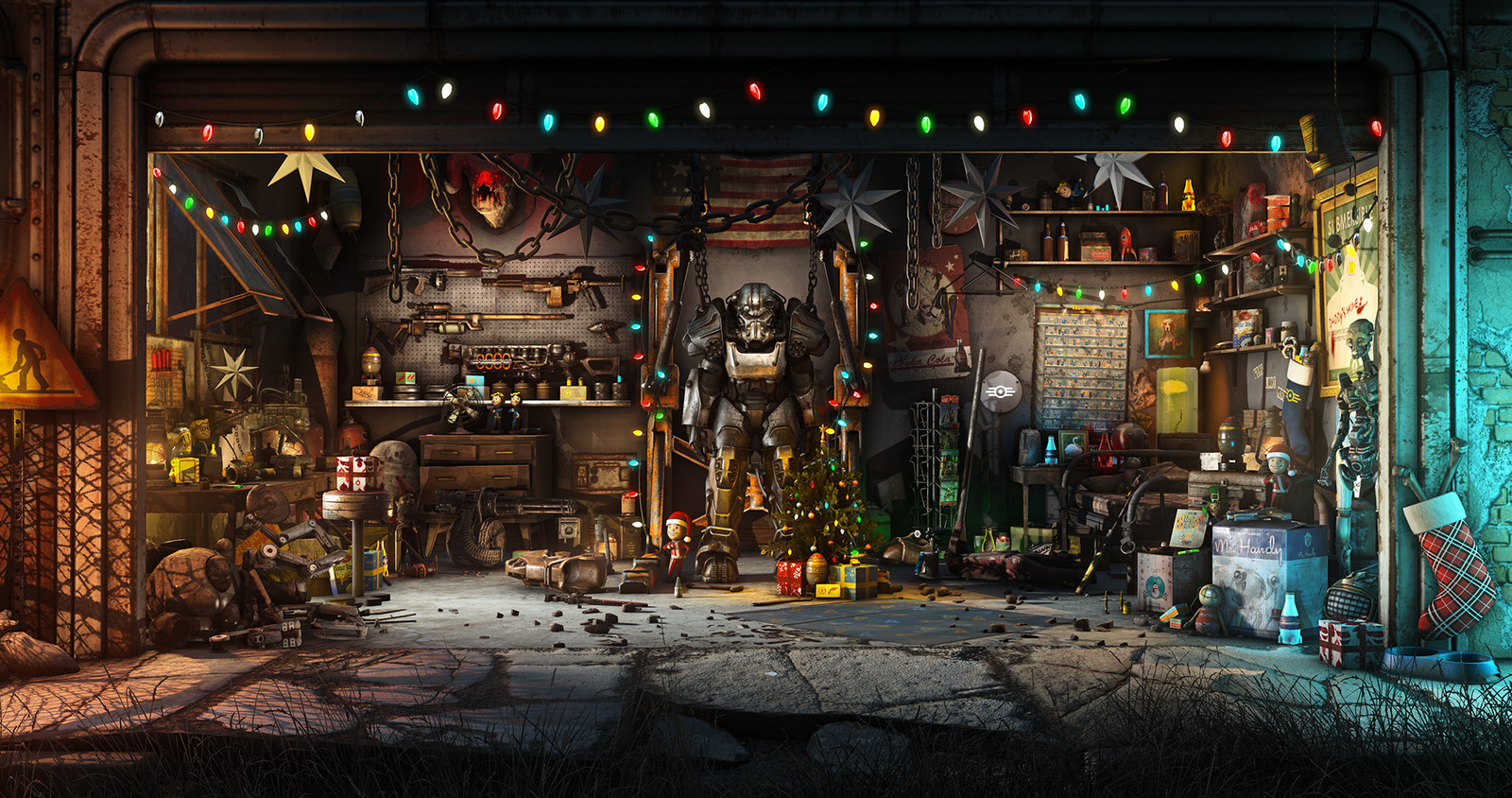A very merry Fallout 4 Christmas