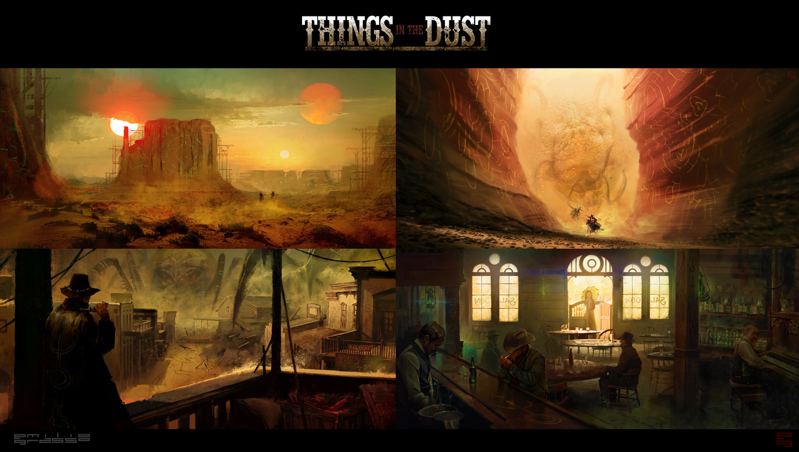Things In The Dust