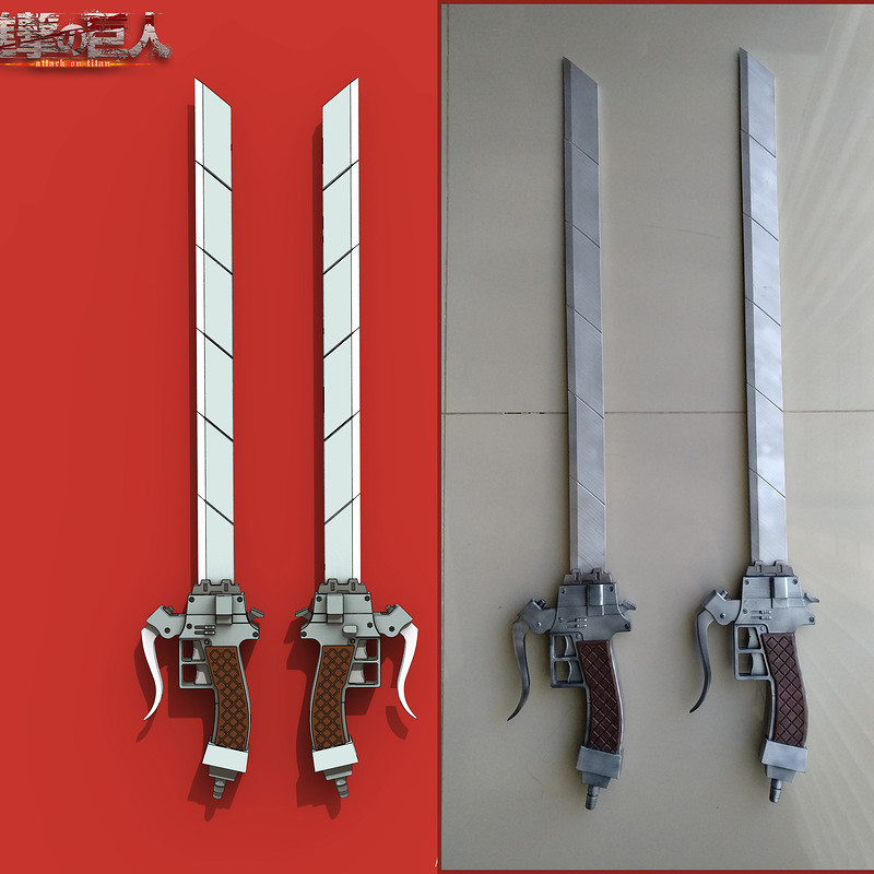 "Cosplay Sword anime ""Attack on Titan"""