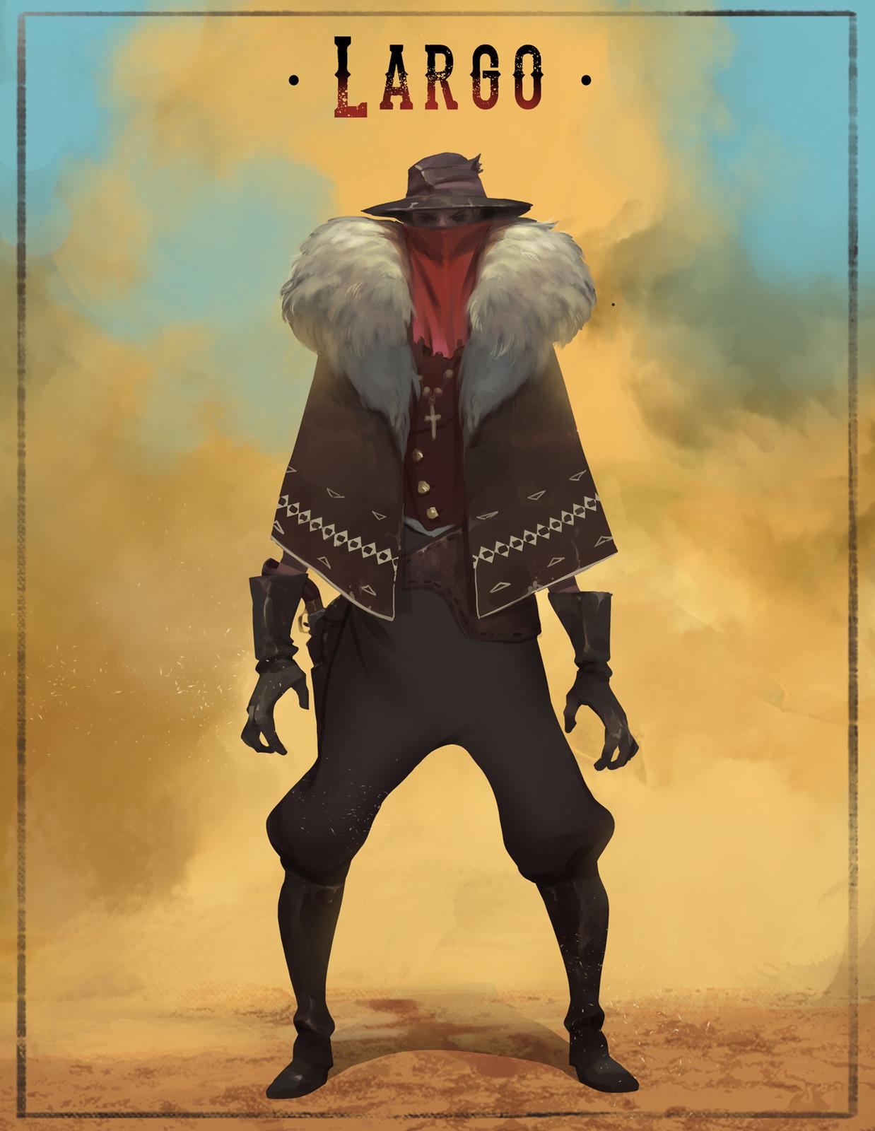 Largo, the Gunslinger