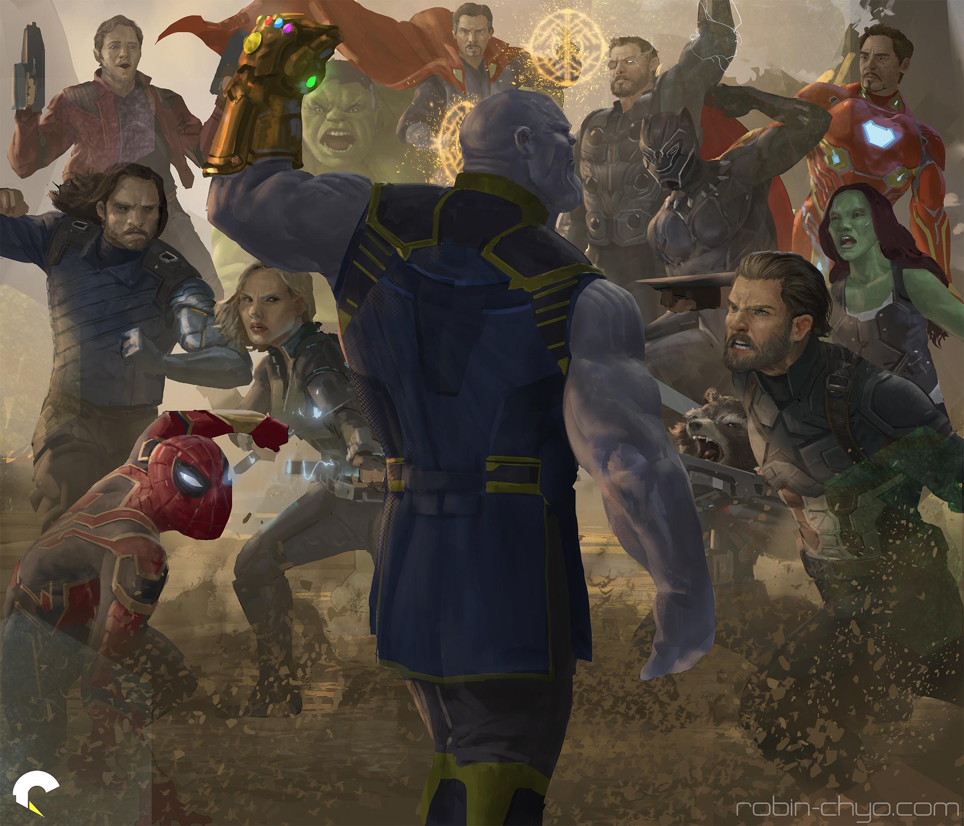 Robin chyo infinity war