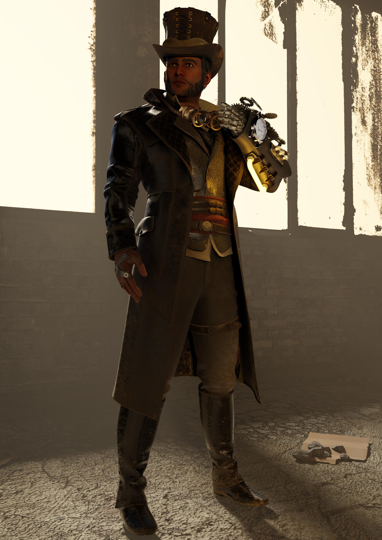 Jan enri arquero steampunk1