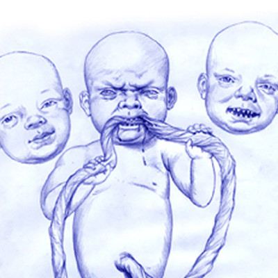 George almond zombie baby images