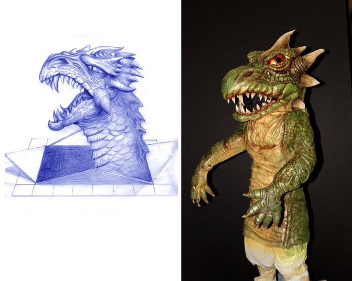 Dragon Costume Design