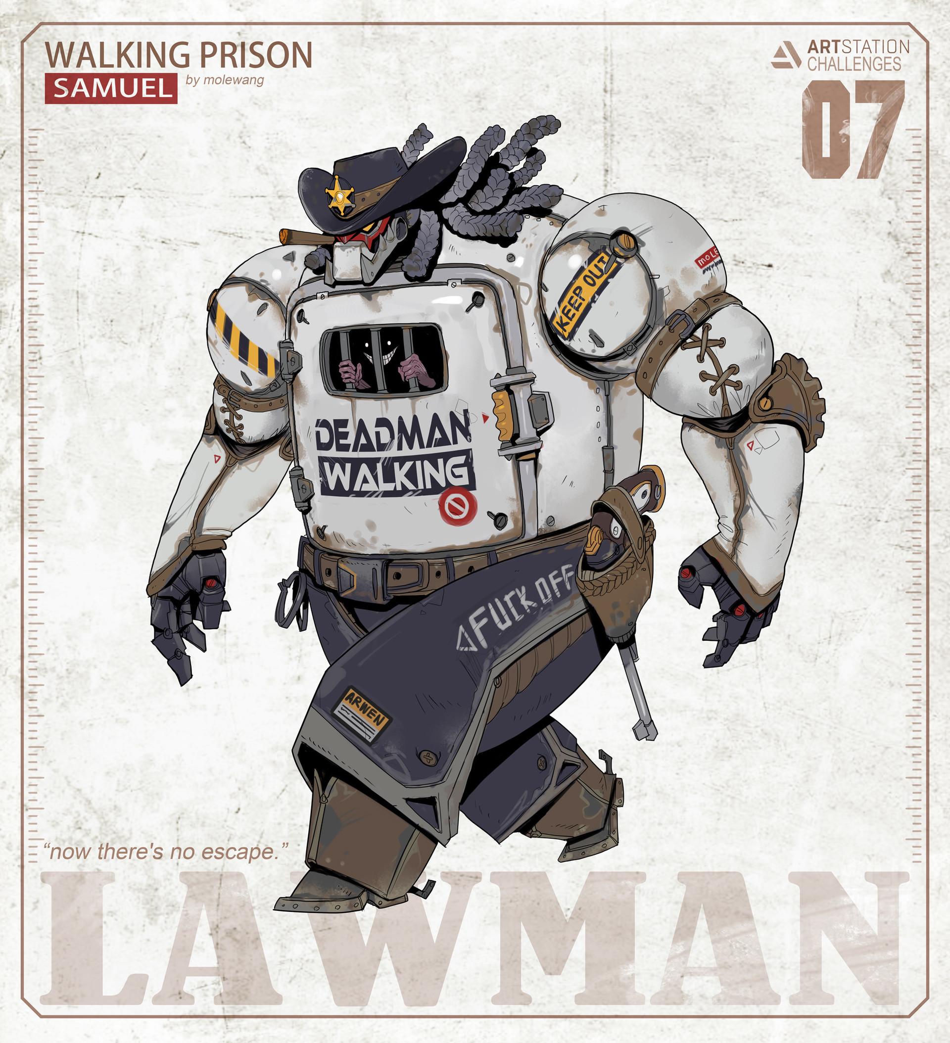 Mole wang 07lawman
