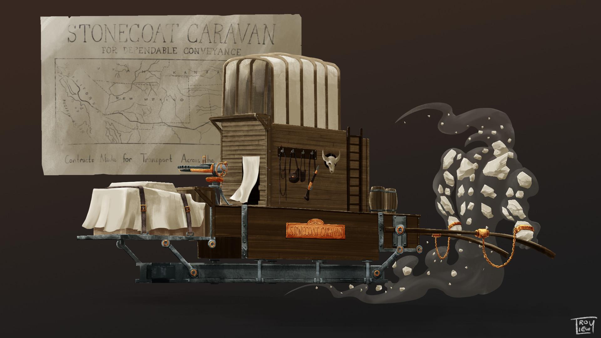 Troy liew caravan
