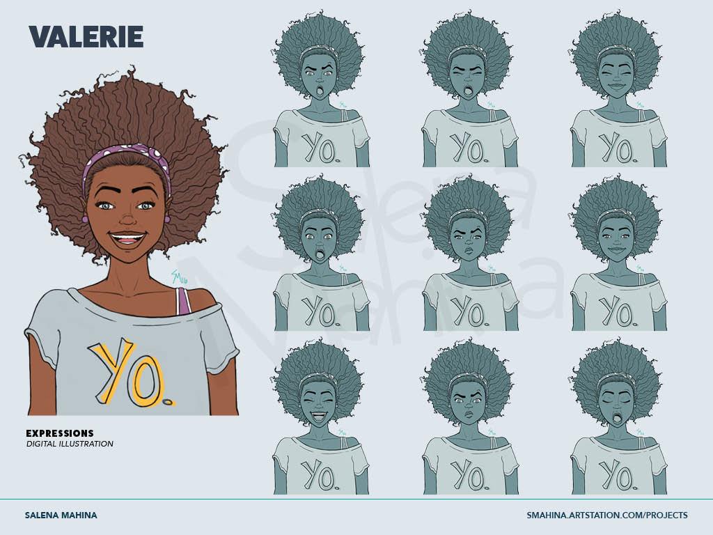 Valerie Original Character Concept