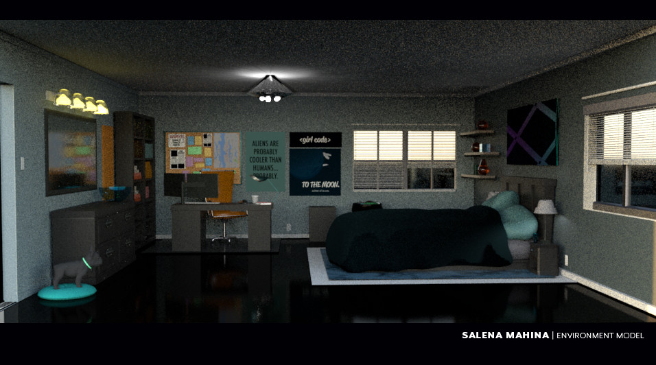 Salena mahina smahina bedroom evironment design 1