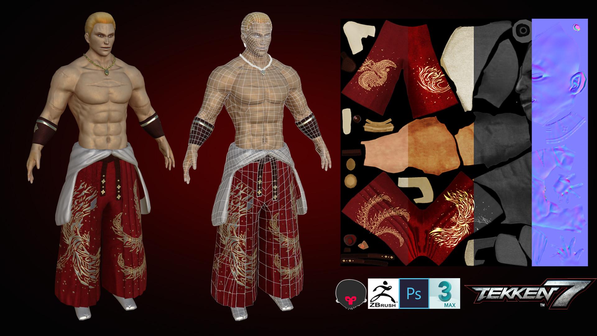 Artstation Tekken7 Geese Howard Joo Seok Am