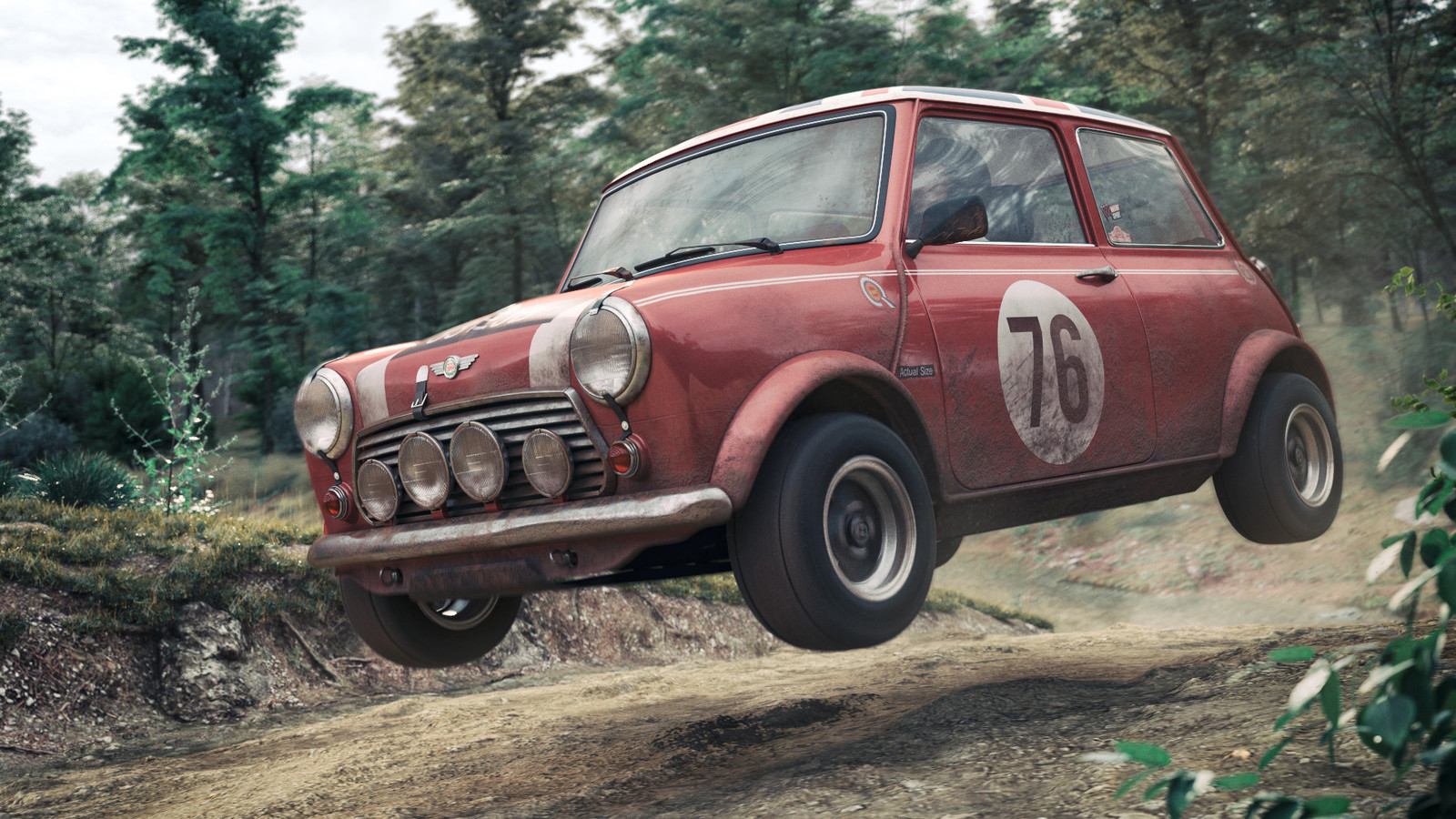 Classic Mini Cooper Rally