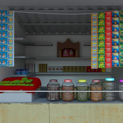 Rajesh r sawant paan shop1