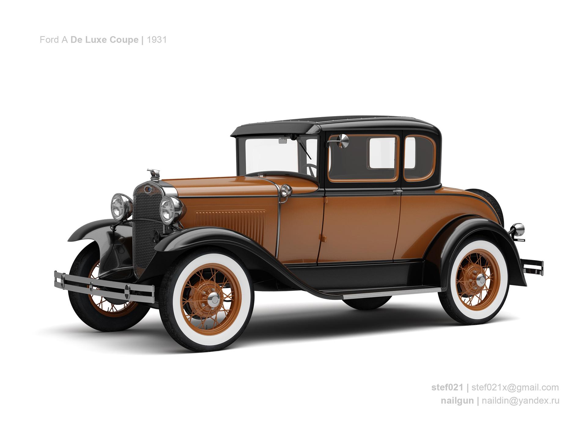 Nail khusnutdinov usa ford a de luxe coupe 1931 0