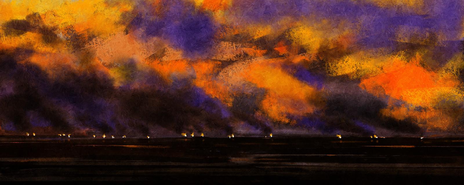 February Firelight