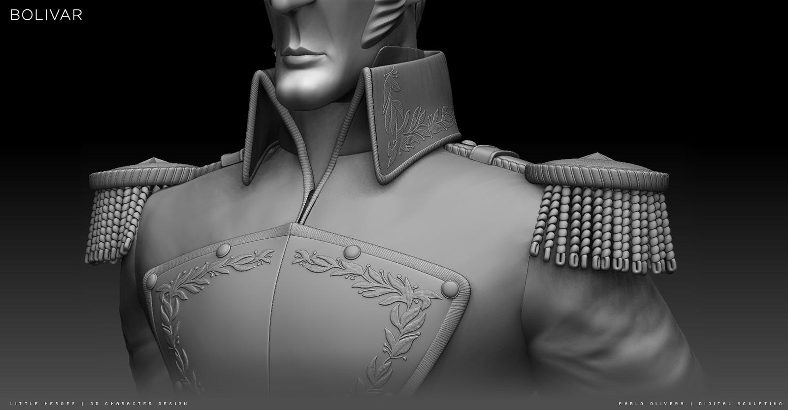 Bolivar ( 3d character modeling / sculpting )