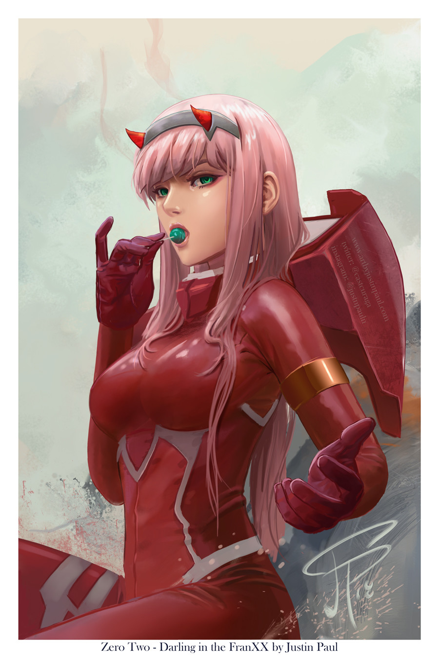 Zero Two - Darling in the FranXX