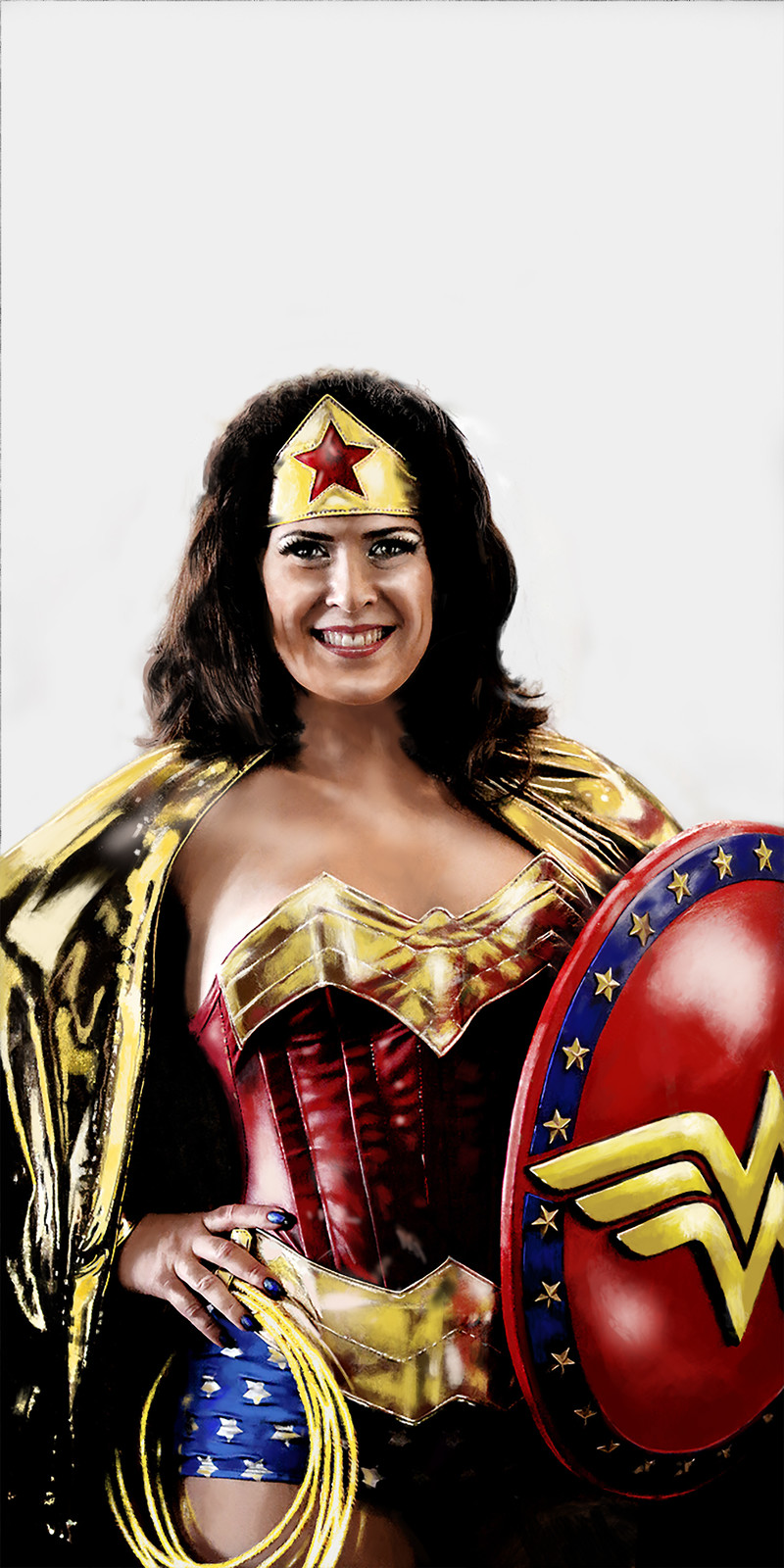 Wonder Woman portrait series using my favorite model.