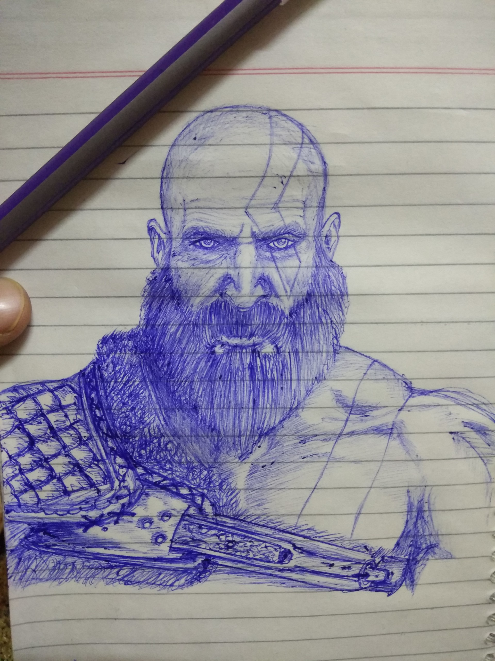 Anchal Rajvanshi Kratos From God Of War 4 Inspired