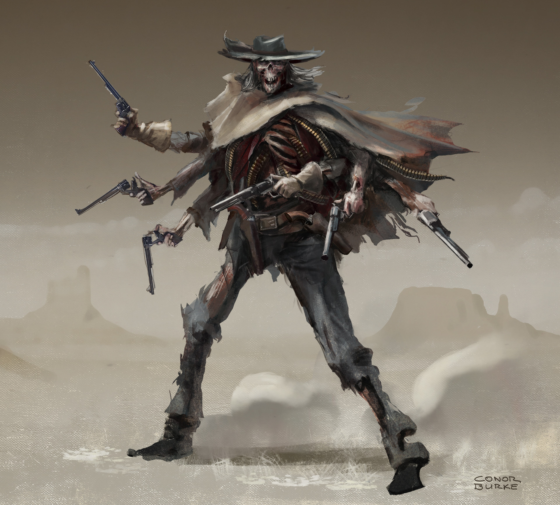 Wild West Challenge - The Good, the Bad and the Undead